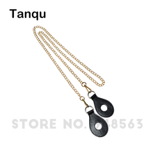 TANQU Shoulder Chain Strap with Drop Shaped Attachment for Obag strap chain with empty Hole Drop for O Bag(China)