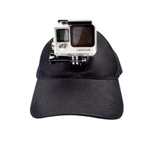 Gopro Accessories Sun Hat Cap With Base for Go pro Hero 3 3+ 4 SCJAM SJ4000 SJ5000 Xiaomi YI Sport action Camera free shipping