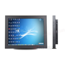 "15"" monitors 4:3 metal casing /industrial monitors 1 year warranty,high brightness lcd pc monitor(China)"