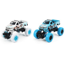 Mini Alloy Metal Diecast Car Baby Toys Kids 1: 32 Scale Pull Back Beetle Beat-up Car Model Vehicle Toy for Children Boy Gift