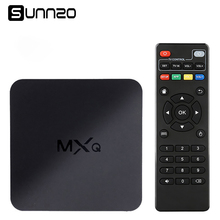 MXQ 4K TV BOX Amlogic S805 Quad Core 1+8GB Unlocked Android Fully Loaded Kodi Streaming Media Player HD 1080P WIFI Set-top Box(China)