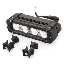 Qook 40W 4 White T6 LED 6500K Off Road Driving Work Light Lamp Bar Car