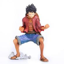 Anime One Piece King of Artist The Monkey D Luffy PVC Action Figure Collectible Toy 19cm OPFG415(China)