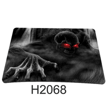 AIYINGE  Punk Skull Computer Accessories Laptop Netbook PC Mouse Pad Mice Pad Mat Mousepad For Optical Laser Mouse K-06