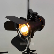 Surface mounted ceiling track spotlights rail track LED track light industrial blades 4 leaves lighthouse black