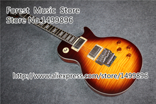 Hot Selling AL LP Electric Guitars China Vintage Sunburst Finish Guitar Body & Kits Available In Stock(China)