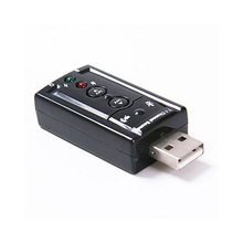 2015 Hot 7.1 Channel USB External Sound Card Audio Adapter(China)