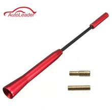 Universal AM/FM Red Small Alloy Bee Sting Car Radio Antenna Aerial For VW /FORD /AUDI