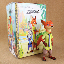 Anime Zootopia Nick Absolute high quality PVC Action Figures Collectible Model Toys 18cm
