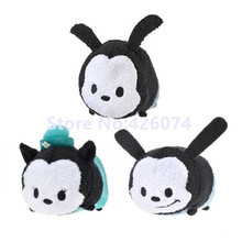 Mini Tsum Tsum Oswald the Lucky Rabbit Plush Kids Stuffed Toys Smartphone Cleaner Small Pendant Children Gifts(China)
