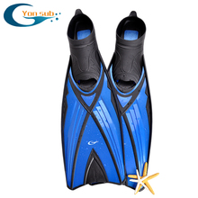 blue adult full foot snorkelling scuba diving fin
