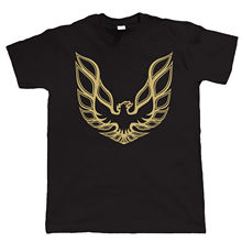Firebird T Shirt - Trans-Am - American Muscle Car - Choice of Colours Printed T-Shirt Pure Cotton Men Top Tee Round Neck Clothes(China)