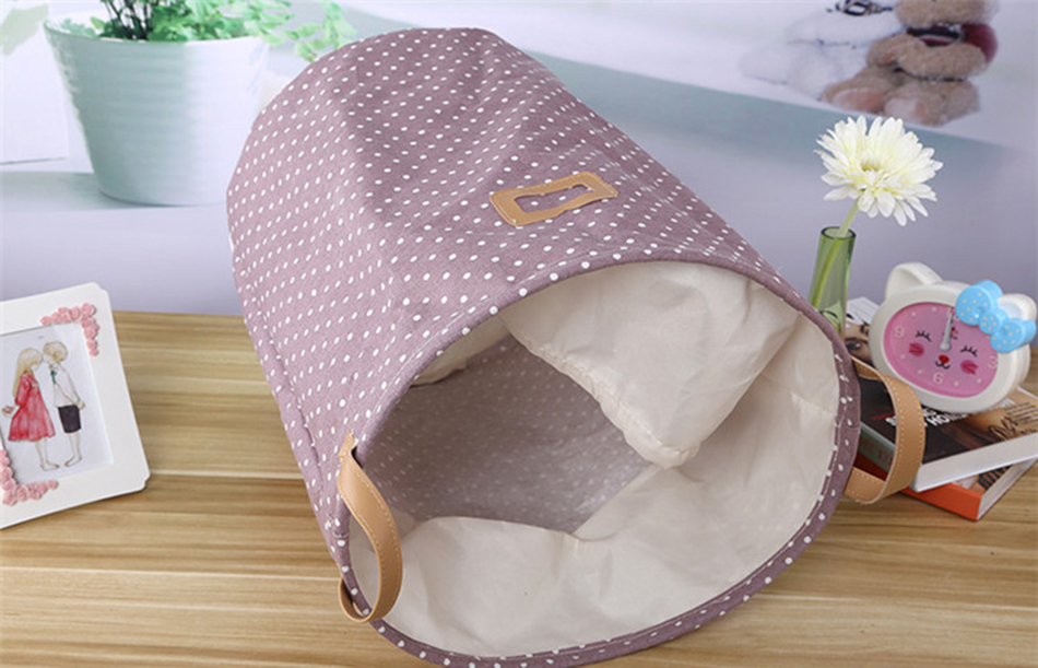 010 MICCK Storage Basket Dirty Clothes Sundries Waterproof Laundry Basket Organizers Washing Clothes Toy Linen Folding Storage Box