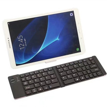 Foldable Keyboard Bluetooth Keyboard Keypad for Android IOS Windows Tablet Folding wireless keyboard for ipad samsung tablet