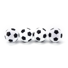 Foosball Table Plastic Round Indoor-Games 32mm Sport 4pcs Gifts New