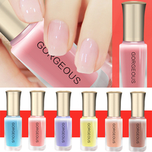 Hot Sales Health workers BK water based Nail polish can tear nail polish can strip All 36 colors sex woman make up(China)