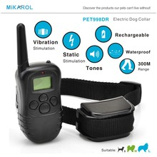 Collar Training Electric Shock Collar Remote Training Collar for Dogs Electric Suitable for Small / Medium / Large Dogs