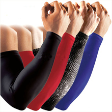 2pc/Set Basketball Elbow Arm Sleeves Brace Lengthen Compression Armguards Sports Running Cycling Sleeves Arm Warmers Protectors(China)