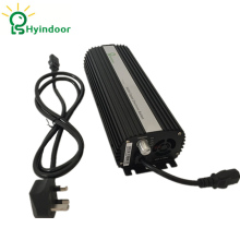 UK PLUG 600W Compact Dimmable Digital Ballasts for Grow Lights HPS MH Bulbs