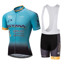 NEW 2017 ASTANA Team cycling jersey/ cycling clothing/Breathable sports wear cycling wear  -1D Free Shipping customize