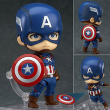 GSC Marvel Avengers Captain America 618Q Version Doll Toys(China)