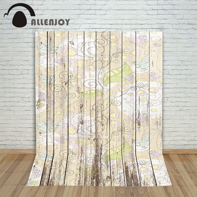 Christmas background for photography wood Flower Yellow heart retro vintage new born professional photocall background pictures<br><br>Aliexpress