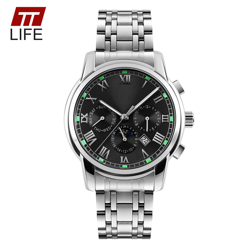 Fashion TTLIFE Brand Watch Luxury Elegant Business New Mens Watches Classic Quartz Stainless Steel Wrist Watch relogio masculino<br><br>Aliexpress