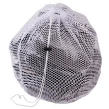 New Useful Laundry Bag Clothes Washing Machine Laundry Bra Aid Lingerie Mesh Net Wash Bag draw cord QB872666