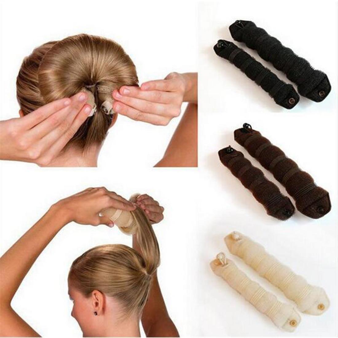 Как сделать валик для объема волос