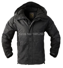 "New SouthPlay Men's ""North Military"" Waterproof Outerwear Hood Double Closed Camo Warming Jacket"