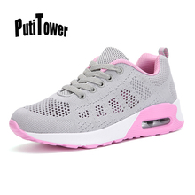 Cushion Women Running Sneakers Light Comfortable Mesh Ladies Tennis Trainers Outdoor Athletic Chaussure Femme Zapatos Mujer 969