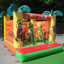 BY SEA Jungle inflatable jumper jumping bouncer bouncy moonwalk +free shipping