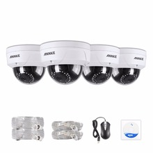 "ANNKE 4-Packed 2.0 Mega pixels (19201080) IP Cameras CCTV System,1/2.8"" Progressive Scan CMOS 100ft Super Night Vision(China)"