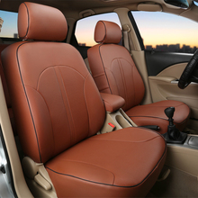 Custom car cushion for Dodge avenger accessories PU leather cars seat covers sets for car seats cushion auto head rest supports