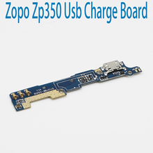 New Original usb plug charge board For ZOPO ZP350 Mobile Phone Flex Cables charging module Microphone cell phone Mini USB Port(China)