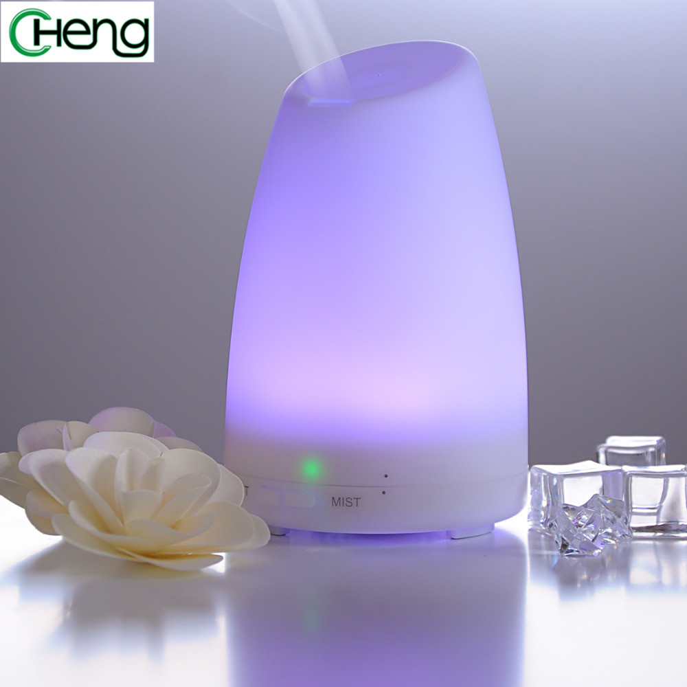 120 ml Portable  New colors changing Diffuser Mini Aroma Air Diffusers Ultrasonic Mist Humidifier Power Home Office hot selling<br>