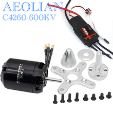 New Aeolian 4260 500kv outrunner brusless electric motor with 80A RC airplane ESC(China)