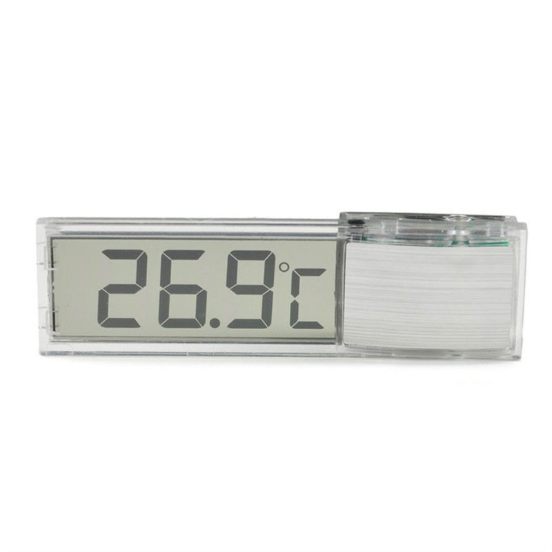 LCD 3D Crystal Digital Electronic Temperature Measurement Multi-Function Fish Tank Aquarium Thermometer 9