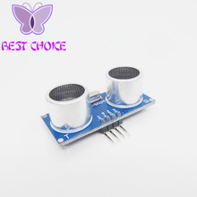 Free shipping 1pcs Ultrasonic Module HC-SR04 Distance Measuring Transducer Sensor for Arduino Samples Best prices