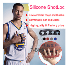 1 pcs Stephen Curry Silicone ShotLoc Basketball Shooting Trainer Secret of Ray Allen Kobe Three-Point Shot(China)