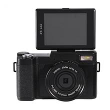 24MP Full HD 1080P 4 Times Digital Zoom Rotatable 3 inches TFT Screen Camera Video Camcoder(China)