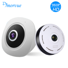 Wireless WIFI IP Camera 360 Fisheye Panoramic Dome Camera 1.3M 960P CCTV Night Vision Video Surveillance Security Support TF