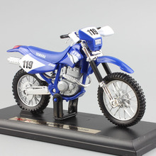 1:18 scale children mini metal Diecast YAMAHA TT-R250 motorcycle Motocross dirt bike race models auto cars Toys for collection(China)