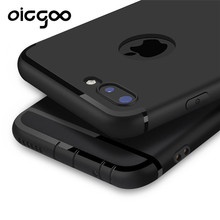 Oicgoo Luxury Back Matte Soft Silicon Case for iPhone 6s Cases 6 6s Plus 5 5s 6 Case Full Cover For iPhone 7 6 Plus Phone Cases(China)