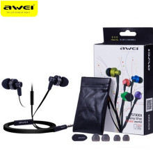 Awei ES900i Noise Isolation In-ear Earphone with Mic 3.5mm 1.2m Cable for Smartphone Tablet PC Support Microphone Answering Call