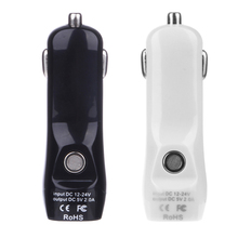 New 2 In 1 Fast Car Charger USB Adapter 2A with Air Quality Detection Car Electronics Accessorie