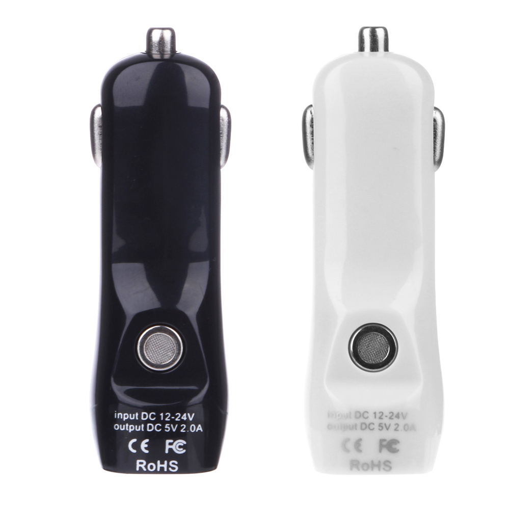 New 2 In 1 Fast Car Charger USB Adapter 2A with Air Quality Detection Car Electronics Accessorie(China)