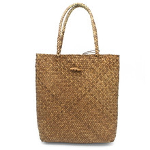 2018 New Summer Shoulder Bag Beach Large Straw Bags Handmade Woven Tote Designer Vintage Shopping HandBags Basket Bag(China)