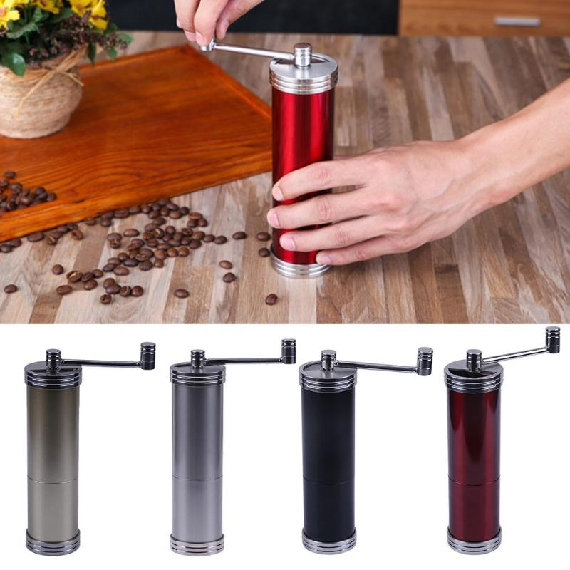 Portable Manual Coffee Grinder Coffee Maker Mini Stainless Steel Hand Coffee Bean Grinders Mill Corn Coffee Grinding Machine