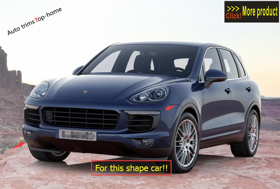 Accessories & For Porsche Cayenne 2013 2017 Front & Accessories Rear Mud Flaps   555eae